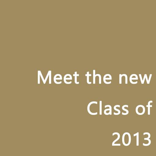 Meet the new class of 2013